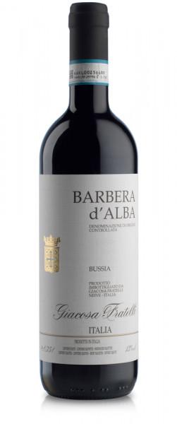 Barbera d'Alba Bussia 2019 Giacosa Fratelli