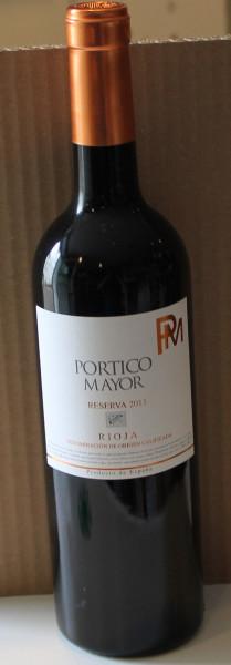 Rioja Reserva 2013 Portico Mayor Bodegas Alconde