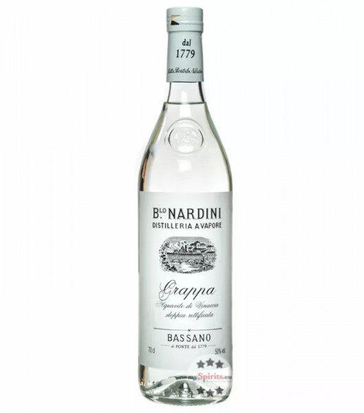 Grappa Nardini Bianca 0,7l Fl. Vol.50% 1 Fl. auf lager