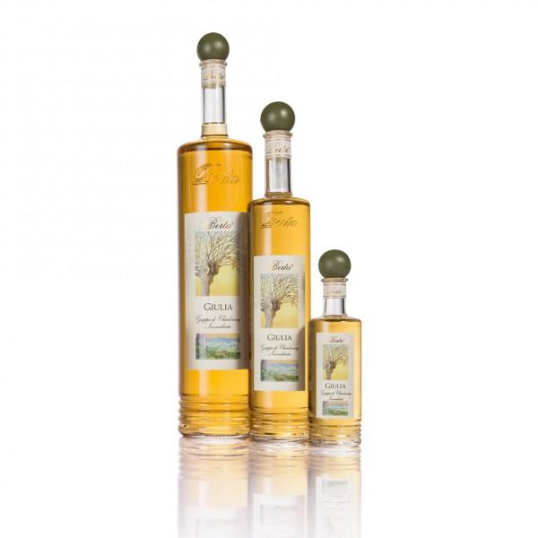 Grappa Berta GIULIA di Chardonnay 40 % vol Alk. 0.7 liter