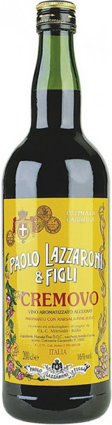 Marsala Cremovo 0,75 Fl. (lieblich) Lazzaroni