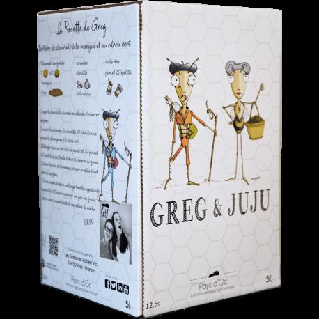 Greg & Juju Pinot-Grenache Rosé IGP Pays d ´Oc 2020 liter Bib