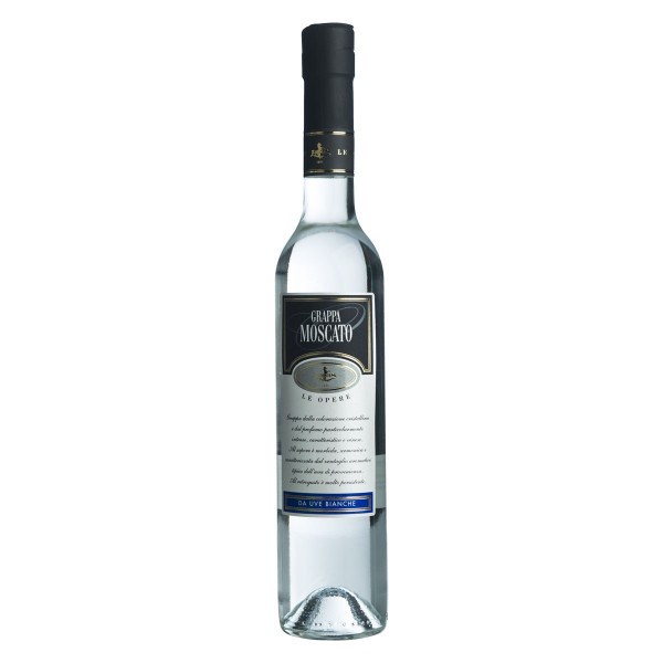 Grappa Moscato Le Opere 0,7 Liter Zanin