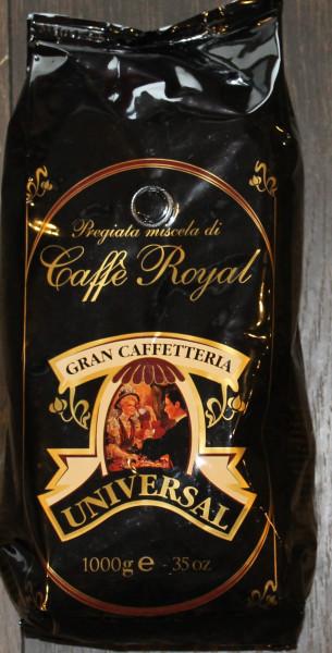Espresso Universal Royal 100% Arabica ganze Bohnen 1 kg