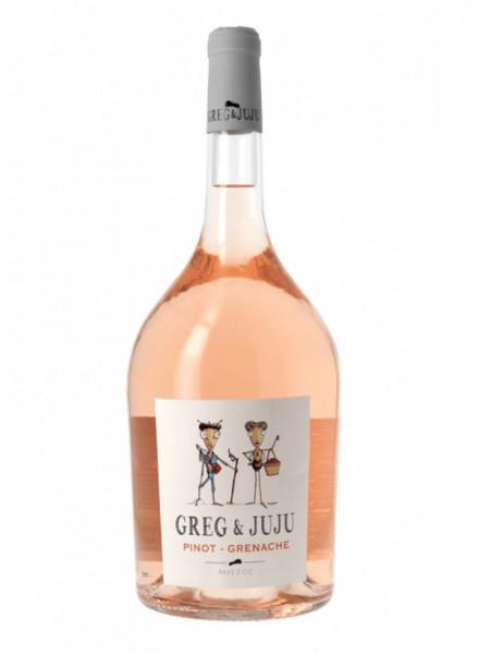 Greg & Juju Pinot-Grenache Rosé IGP Pays d ´Oc 2020-0,75
