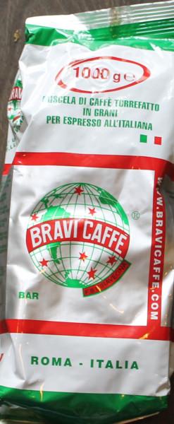 Espresso Bravi Bar Bohnen 1 Kg-