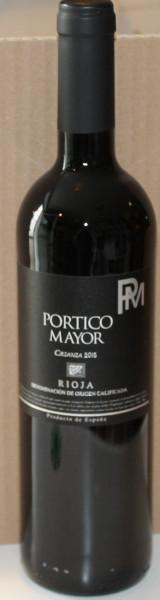 Rioja Crianza 2015 Portico Mayor Bodegas Alconde
