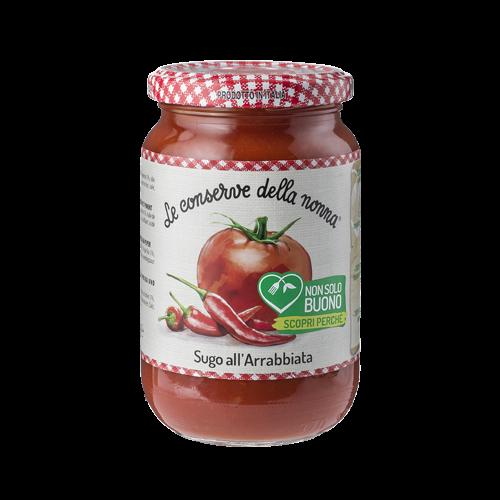 Sugo Tomatensauce all'Arrabbiata conserve della nonna 350.g
