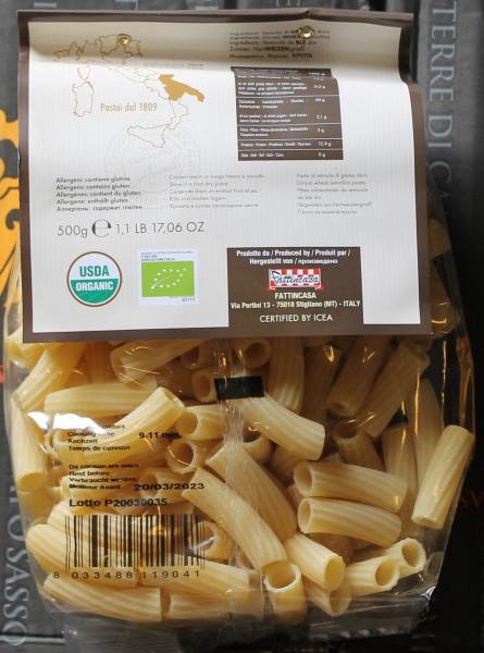 tortiglioni Acinello 500.g.pasta aus italien