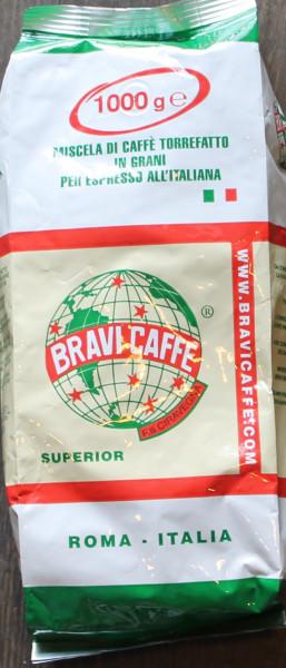 Espresso Bravi Superior Bohnen 1 Kg