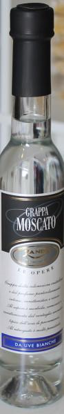 Grappa Moscato Le Opere 0,2 Liter Zanin