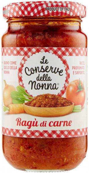 Le Conserve della Nonna Ragù di carne - Bolognese-Sauce 350.g