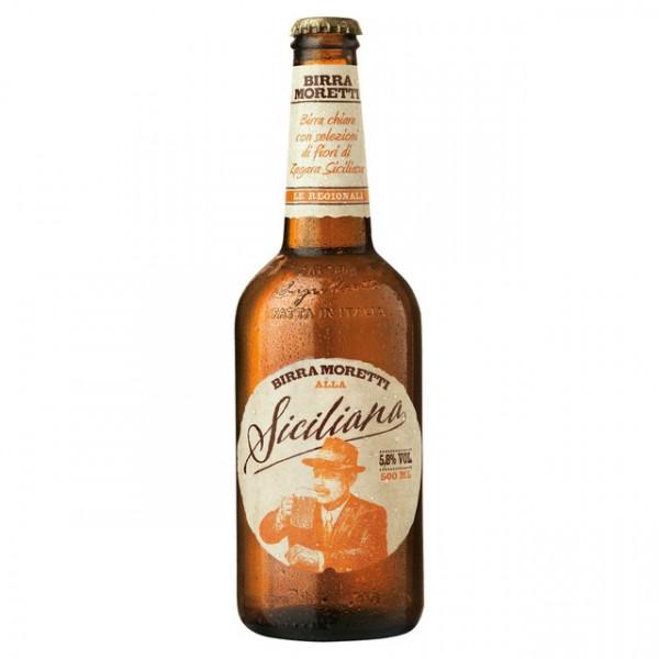 Birra Moretti alla Siciliana 500 ml