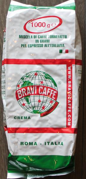 Espresso Crema Bravi Bohnen 1 Kg