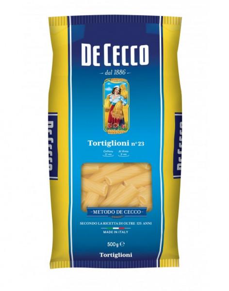Tortiglioni n° 23 De Cecco 500.g.