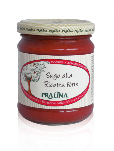 sugo Tomatensauce mit Ricotta Pralina 180 g vegan