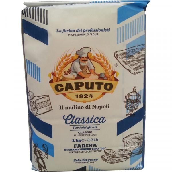 Pizzamehl Typ 00 - Caputo Classica Blu-Blau 1 Kg-Mhd 5-2021