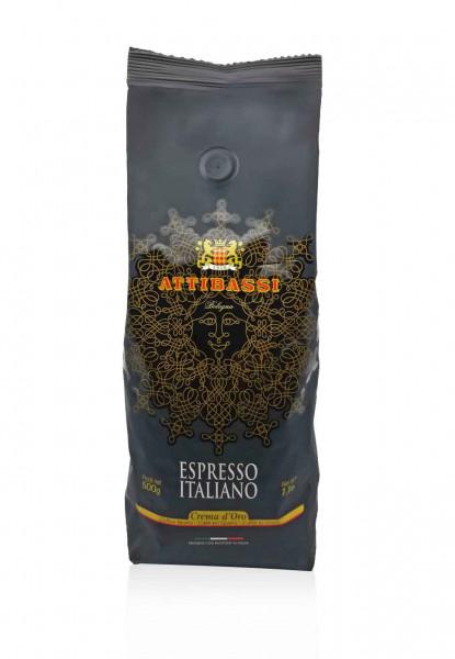 Attibassi Espresso Italiano Crema d'Oro 500.g.