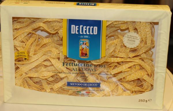 Fettuccine all uovo mit Ei Nr.103 250g/ De Cecco