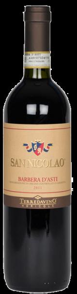 Terre da Vino San Nicolao Barbera d´asti DOCG 2018
