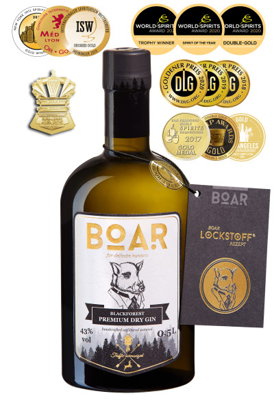 Boar Gin® 0,5l 43% Vol