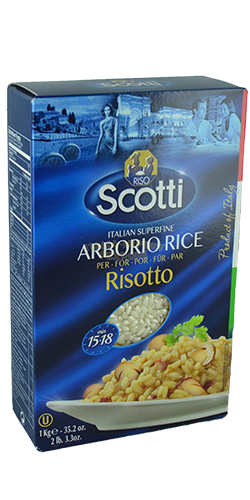 Reis riso Scotti Arborio 1 kilo