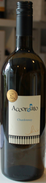 Chardonnay Accordato Ambre 1 liter 2019