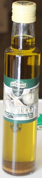 Knoblauch natürlich aromatisiertes Olivenöl 250 ML