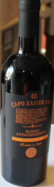Capo Zafferano Rosso Appassimento Puglia 2019