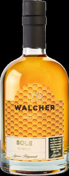Walcher Honiglikör mit Grappa - Sole di Miele