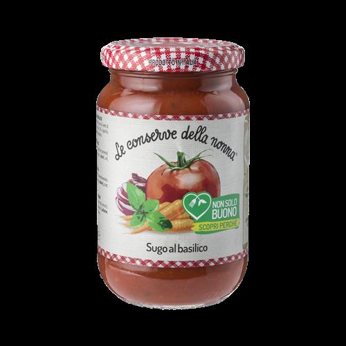 Sugo Tomatensaucen mit Basilikum conserve della nonna 350.g
