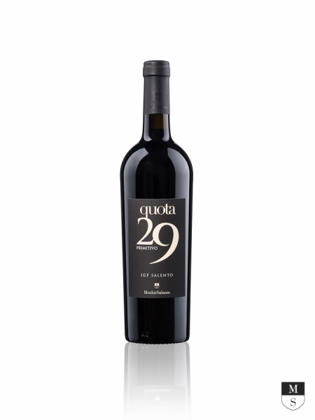 Quota 29 Primitivo Salento Menhir 2019