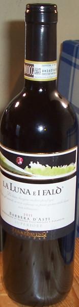 vite colte Barbera d'asti La Luna e I Falo 2017 terre da vino
