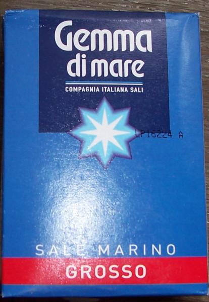 Grobes Meersalz - Sale Marino Grosso 1000 g.