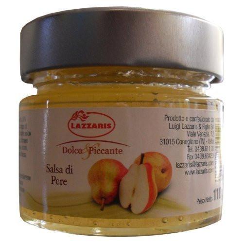 110g Birnensenf Sauce Salsa di Pere Senf Lazzaris
