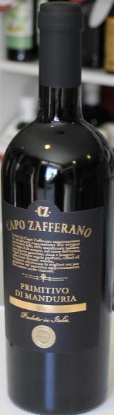 Capo Zafferano Primitivo di Manduria DOC 2018 premium