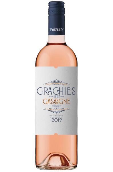 Vignobles Fontan Grachies Cotes de Gascogne Rose 2020