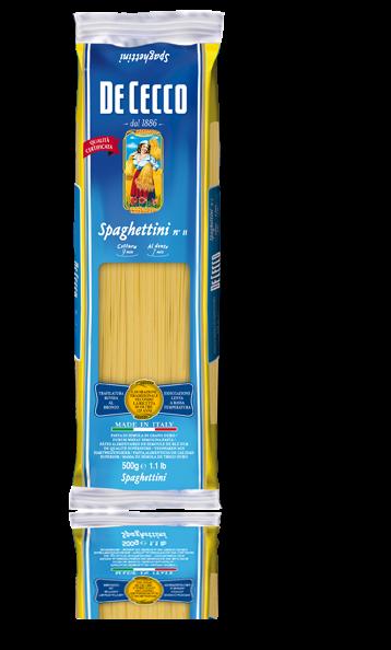 De Cecco Spaghettini Nr. 11 pasta aus italien