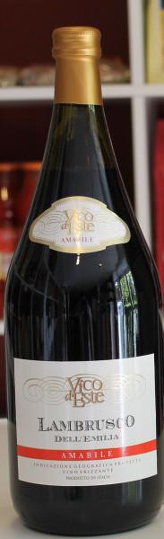 Lambrusco Reggiano Amabile DOC 1,5l Chiarli Vico d′Este Emilia-Romagna